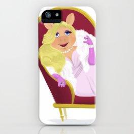Ms. Piggy iPhone Case