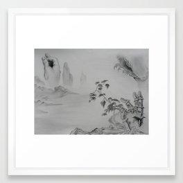 Northern Song Framed Art Print