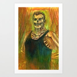 Remnant Of Archibald Colby Art Print