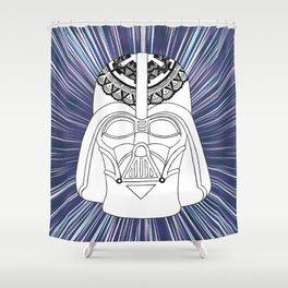 Darth Vader Mandala Shower Curtain