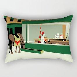 Knight Hawks Rectangular Pillow
