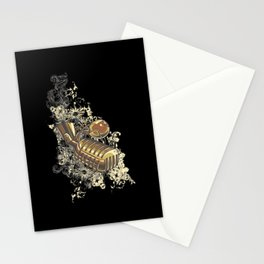 music mic Stationery Cards