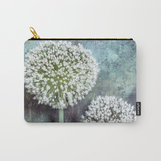 Allium Flowers Carry-All Pouch