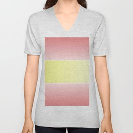Flag of spain - with color gradient Unisex V-Neck