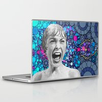 psycho Laptop & iPad Skins featuring Psycho Design  by Love2Snap