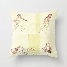 Crooked Creek #4 Throw Pillow