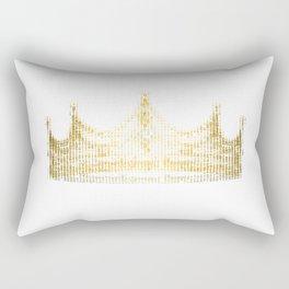 king for a day Rectangular Pillow