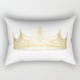king for a day Rectangular Pillow