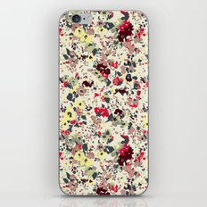painted floral iPhone & iPod Skin