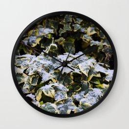 Neve em Londres - 4 Wall Clock