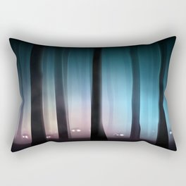 Spooky Forest Monsters Rectangular Pillow