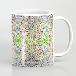 Flower abstract acrylic painting Coffee Mug