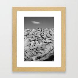 Moon Walkers Framed Art Print