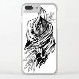 Wild Fox Clear iPhone Case