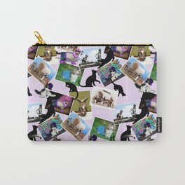 Collage of  Cat Photographs Carry-All Pouch