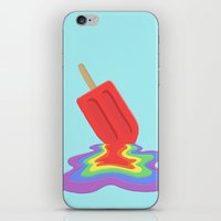 popsicle iPhone & iPod Skins featuring Popsicle by BTP Designs