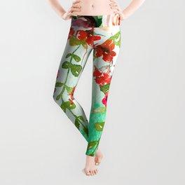 Hanging Roses Leggings
