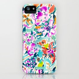 GARDEN GRAVY FLORAL iPhone Case