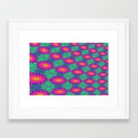 tie dye Framed Art Prints featuring Tie Dye by Cherie DeBevoise