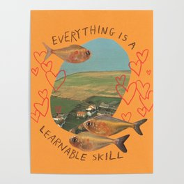 learnable skill Poster