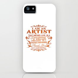 ARTIST iPhone Case
