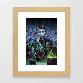 Hannibal Holocaust - They Live Return of the Living Dead Mads Mikkelsen Framed Art Print