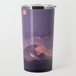 Mt Rainier Travel Mug