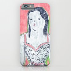 the girl is waiting Slim Case iPhone 6s