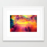 tie dye Framed Art Prints featuring Tie Dye by Sarah Maybin
