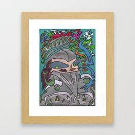 Rutherford The Brave Framed Art Print