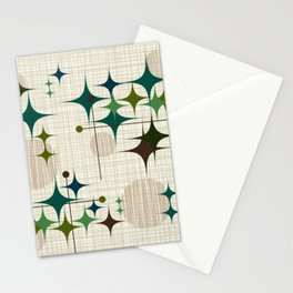 Starbursts and Globes 1 Stationery Cards