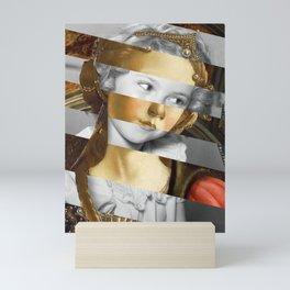 Sandro Botticelli's Fortitude & Shirley T. Mini Art Print