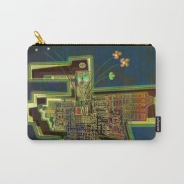 Good Vibes from the Robotic City Lab Carry-All Pouch