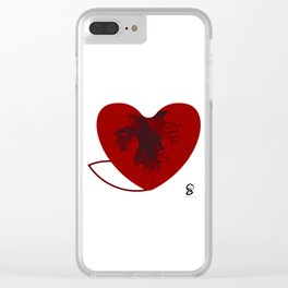 Heart of canada Clear iPhone Case