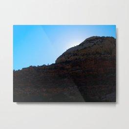 Canyon Dwellers' Sunset Metal Print
