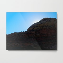 Canyon Dwellers' Sunset Metal Print