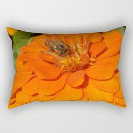 I Bee Working Rectangular Pillow