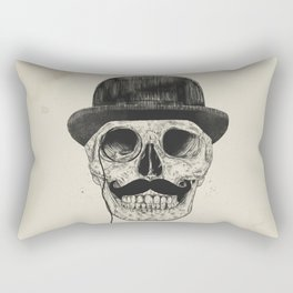 Gentlemen never die Rectangular Pillow