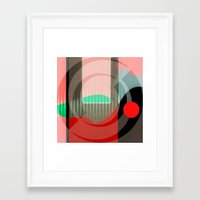 courage Framed Art Prints featuring Courage by Kristine Rae Hanning