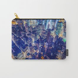 Manhattan From Above Carry-All Pouch