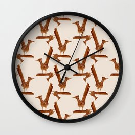 Monochrome - Roadrunner Wall Clock