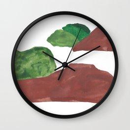 15    | Mountain Watercolour Painting  | 190402 Wall Clock