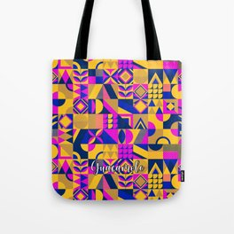 SQUARES MULTICOLOR Tote Bag