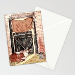 Stable Door Inside Stationery Cards
