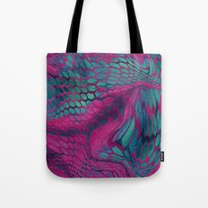 Asia Dragon Scales Tote Bag