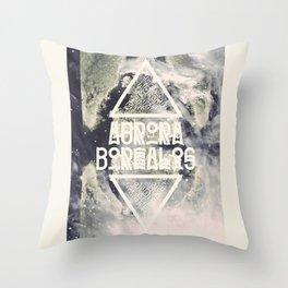 AURORA BOREALIS#01 Throw Pillow