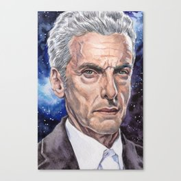 The Doctor (Capaldi) Canvas Print