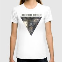 industrial T-shirts featuring Industrial District by Nigel Goh