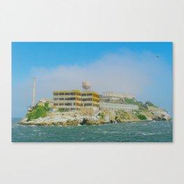 Alacatraz Island Canvas Print