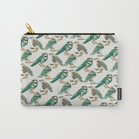 Little Crows Carry-All Pouch